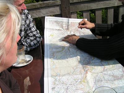 map-gazing