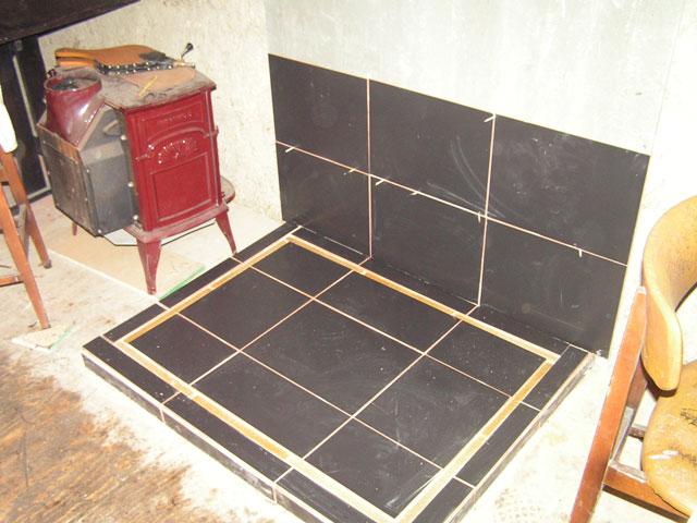stove plinth