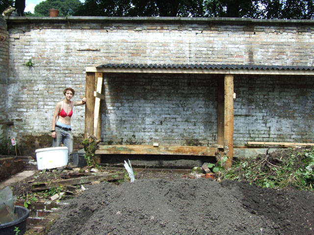 anna and her woodshed
