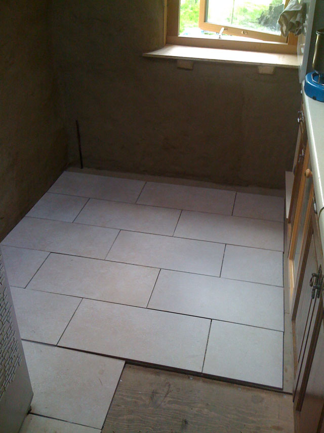 tiles on the floor