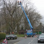 a cherry picker