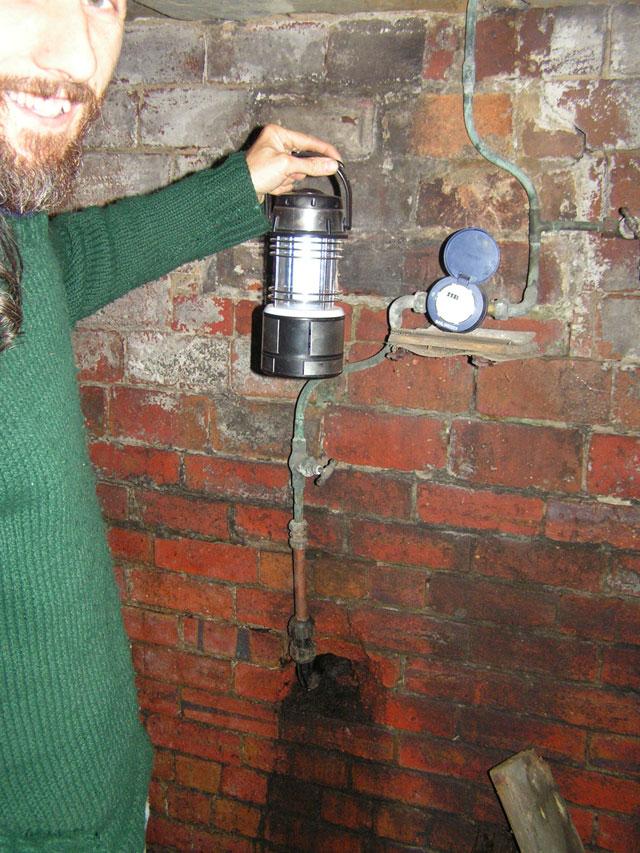the water meter