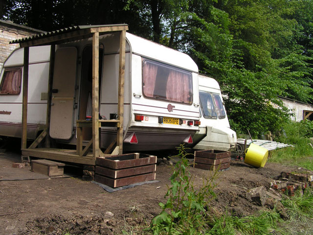 the new home of the caravans
