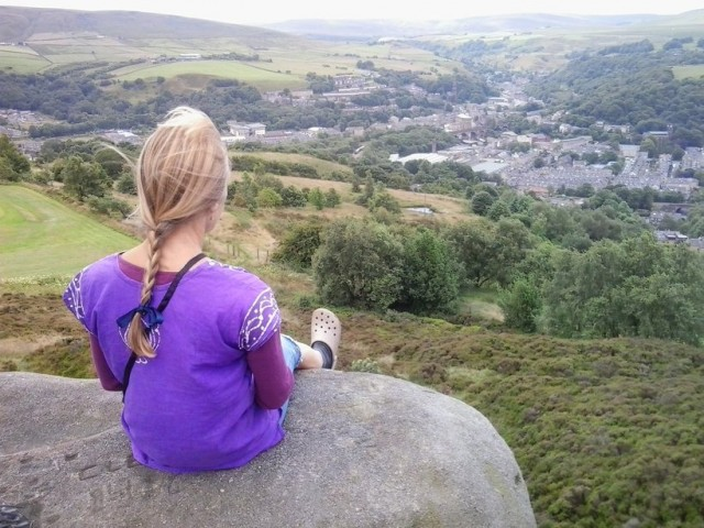 Jane Admiring the View