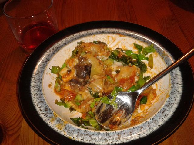 Anna's amazing lasagne