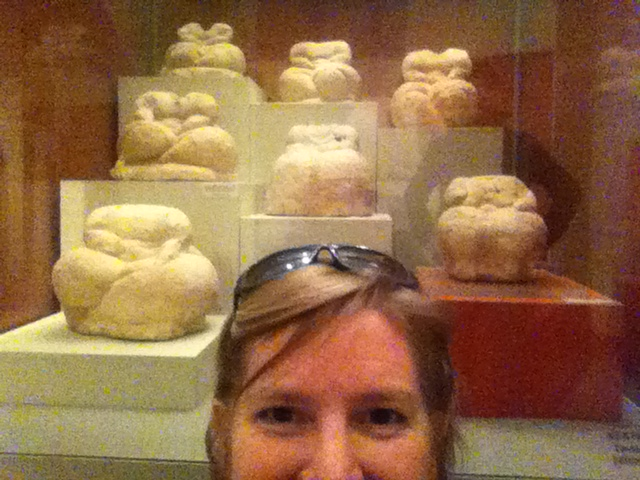 saw lots of fat ladies in the archaeological museum