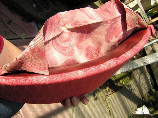 reupholstering back