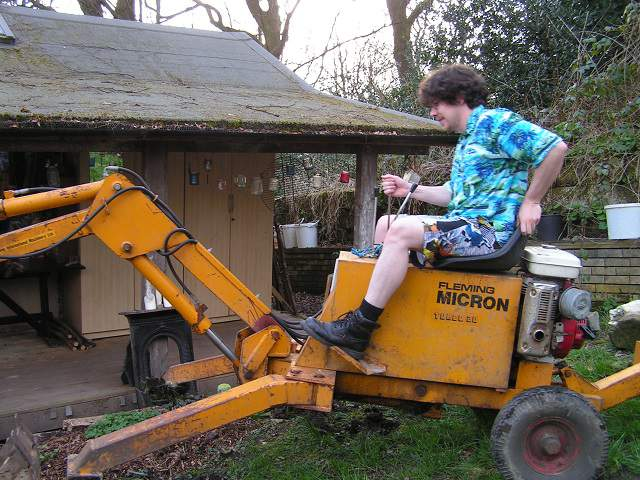 bob and the digger