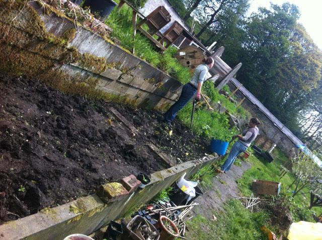 gardening slaves