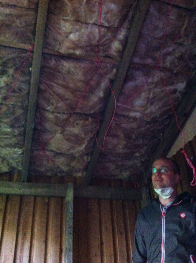 very pleased to be done with the insulation
